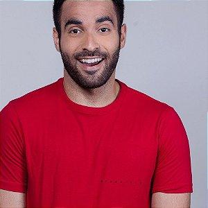 Camiseta Fuderoso Minimal Vermelha