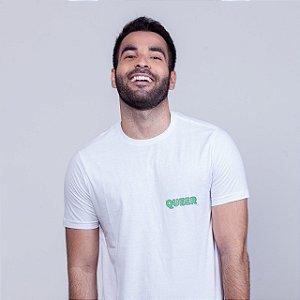 Camiseta Queer Branca Wee