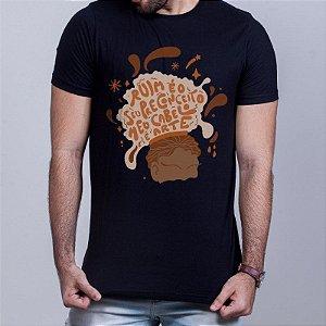 Camiseta Cabelo Arte Preta