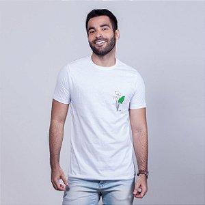 Camiseta Copo de Leite Branca