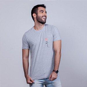 Camiseta Rosa Mescla