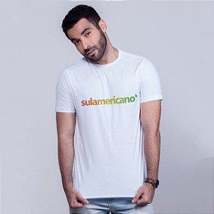 Camiseta Sulamericano  Branca