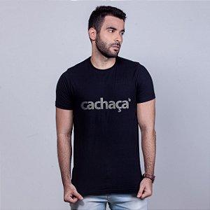 Camiseta Cachaça Preta