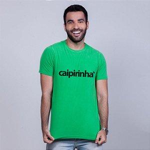 Camiseta Estonada Caipirinha Verde