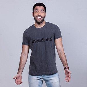 Camiseta Estonada Meladinha Chumbo