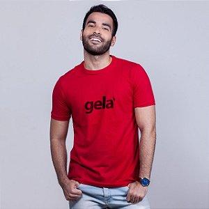 Camiseta Gela Vermelha