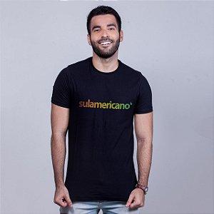 Camiseta Sulamericano Preta
