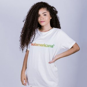 Camiseta Sulamericana Off White