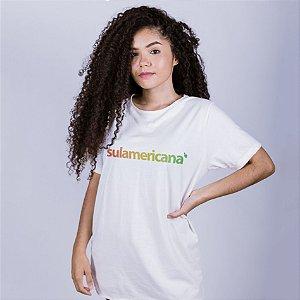 Camiseta Sulamericana Off White