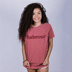 Camiseta Estonada Fuderosa Goiaba