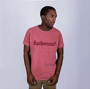 Camiseta A Fio Estonado Fuderoso Goiaba