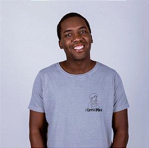 Camiseta Estonada Figurinha I tirri i plini Cinza