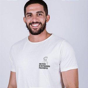 Camiseta A Fio Psicotrópico Off White