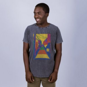 Camiseta Estonada Beco da Lama Marmorizada