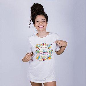 Camiseta Eu amo Olinda mas não largo do Atheneu Off White