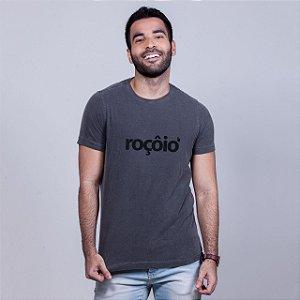 Camiseta Estonada Roçôio Chumbo