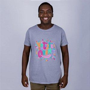 Camiseta Votasse Em Quem? Cinza Amandrafts