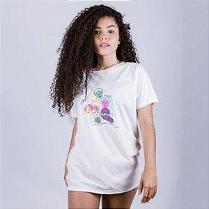 Camiseta A Fio Respeita as Mina
