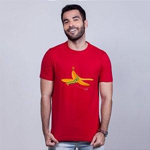 Camiseta Banana Vermelha