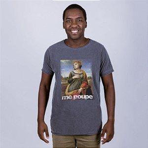 Camiseta Estonada A Fio Me Poupe Chumbo