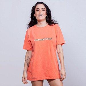 Camiseta Estonada Mãezona da Porra Laranja