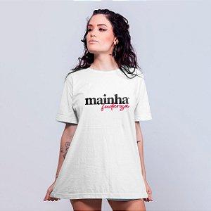 Camiseta Mainha Fuderosa Branca