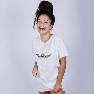 Camiseta Que Nem Mainha Off White