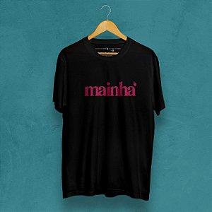 Camiseta Mainha 2020 Preta