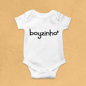 Body Infantil Boyzinho Branco
