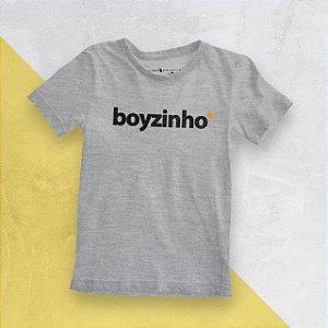 Camiseta Infantil Boyzinho Mescla