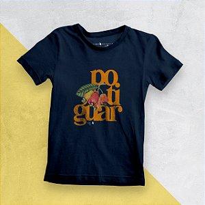 Camiseta Infantil Potiguar Marinho