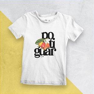 Camiseta Infantil Potiguar Branca