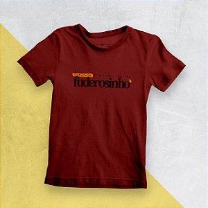 Camiseta Infantil Fuderosinho 2020 Vermelha