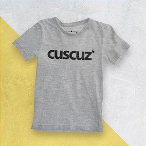 Camiseta Infantil Cuscuz Mescla