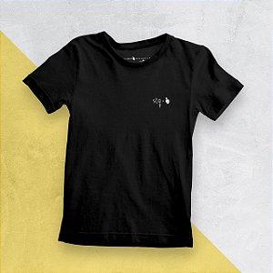 Camiseta Infantil STQ Preta