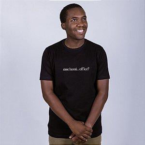 Camiseta Esse Homi Office Preta