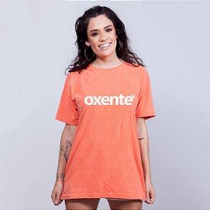 Camiseta Oxente Estonada Laranja