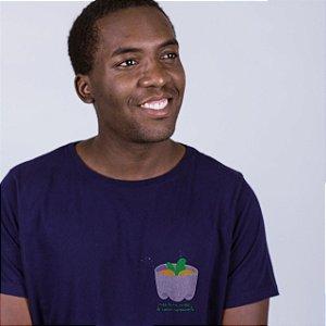 Camiseta Plantinha Marinho Endrew
