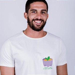 Camiseta A Fio Plantinha Off White Endrew