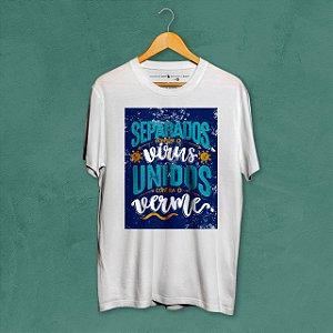 Camiseta Unidos Branca Amandrafts