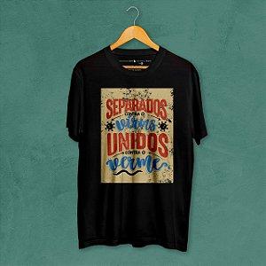 Camiseta Unidos Preta Amandrafts