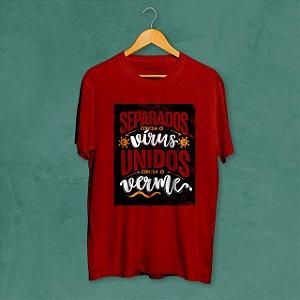 Camiseta Unidos Vermelha Amandrafts