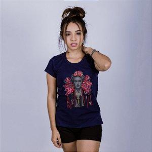 Babylong Frida Kahlo Azul Marinho