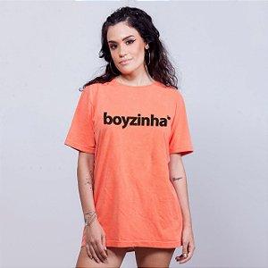 Camiseta Estonada Boyzinha Laranja