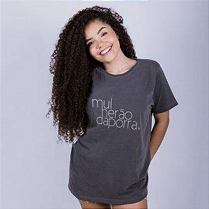 Camiseta Estonada Mulherão da Porra Chumbo