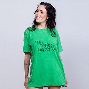 Camiseta Estonada Mulherão da Porra Verde