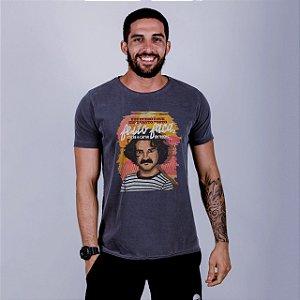 Camiseta A Fio Estonada Belchior Chumbo