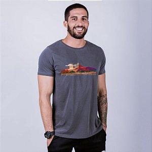 Camiseta Estonada Pico do Cabugi Chumbo