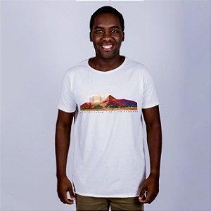 Camiseta Estonada A Fio Pico do Cabugi Off White