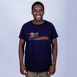 Camiseta Ponte de Igapó Azul Marinho